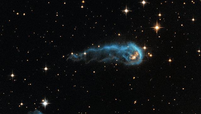 Межзвездное облако в созвездии Лебедя. Архивное фото
