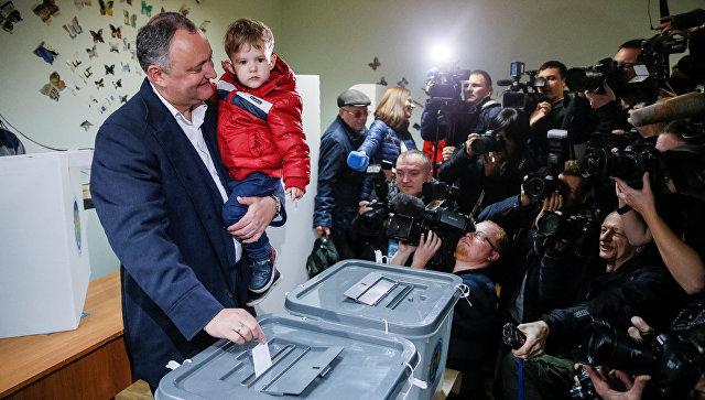 ВМолдове стартовал 2-ой тур президентских выборов