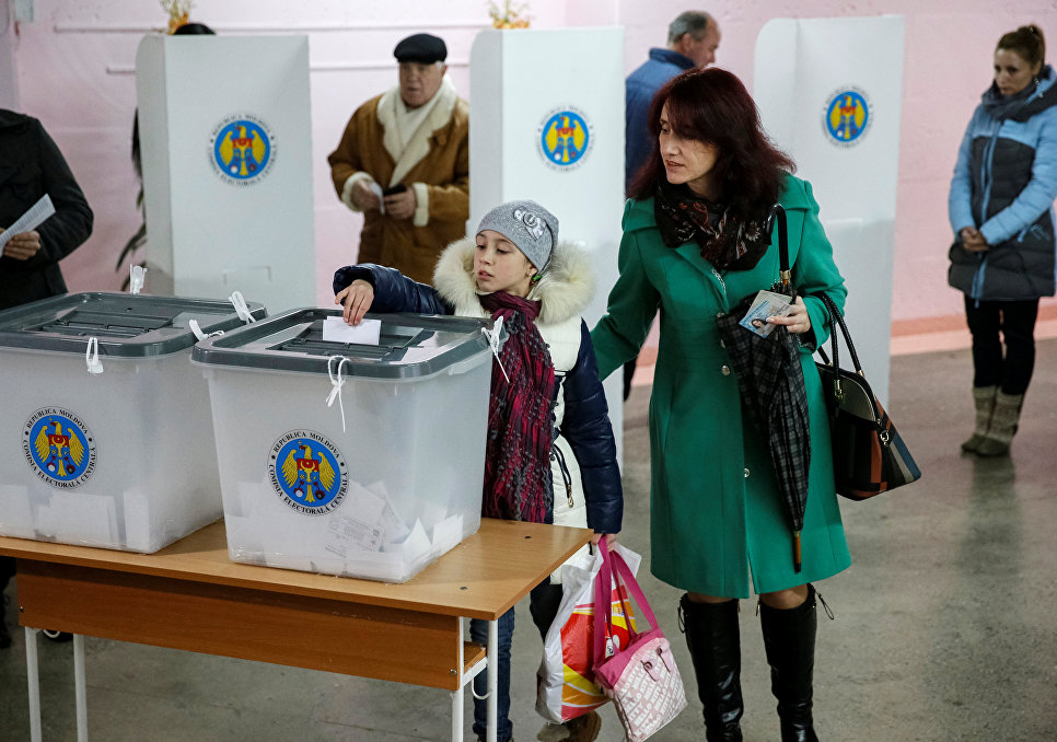 ВМолдавии проходит 2-ой тур президентских выборов