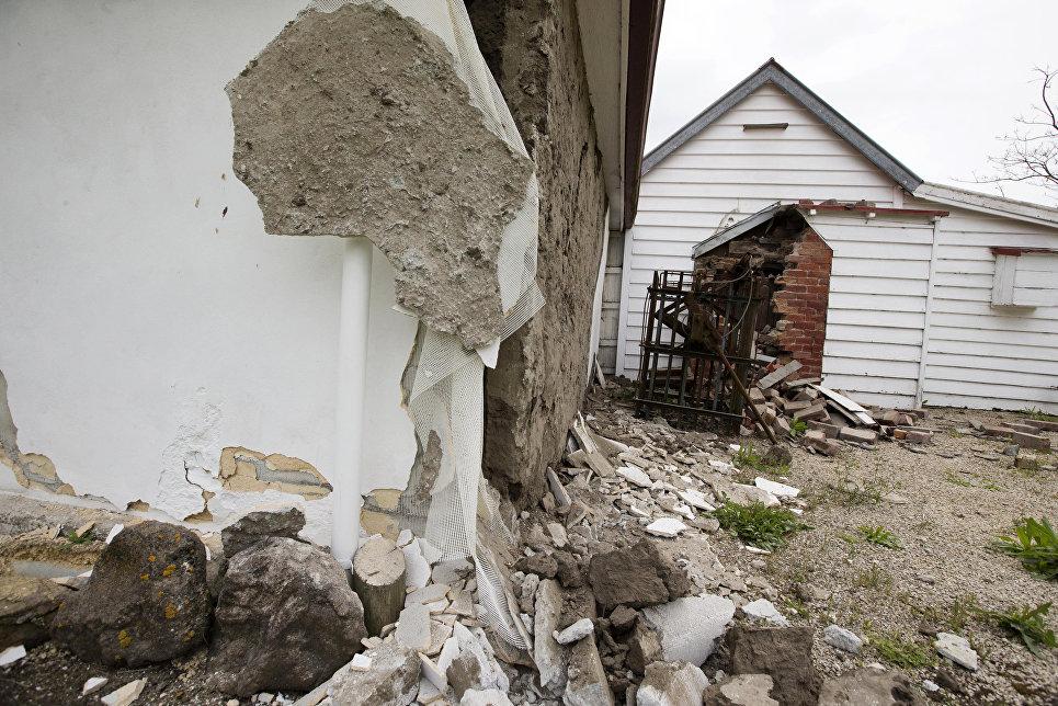 Кэвакуации граждан свежей Зеландии после землетрясения подключились военные
