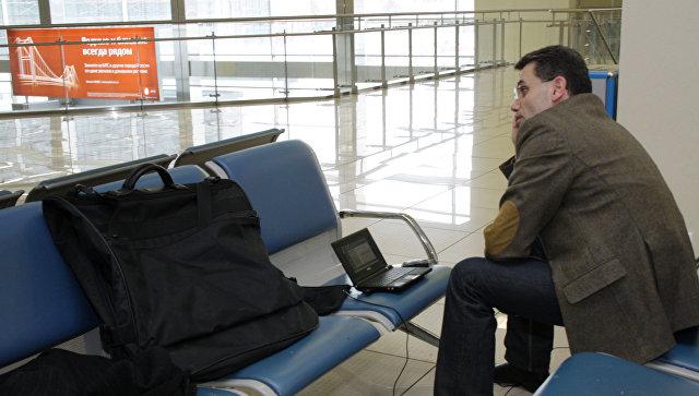Ваэропорту Краснодара насутки задерживается рейс вДушанбе