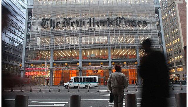 Трамп раскритиковал The New York Times