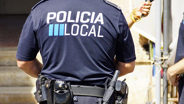 Сотрудник испанской полиции. Архивное фото