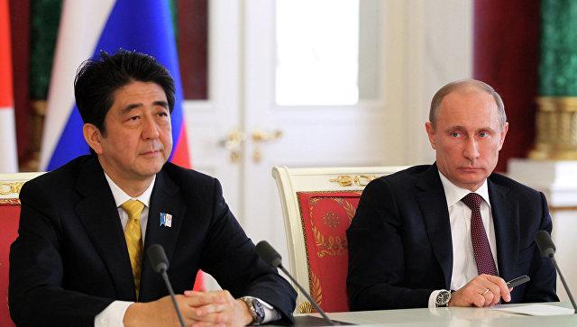 Абэ озвучил планы двусторонних встреч сПутиным иТрампом
