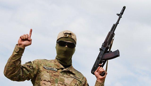 Боец батальона Айдар. Архивное фото