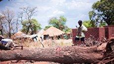 Ребенок в Южном Судане. Архивное фото