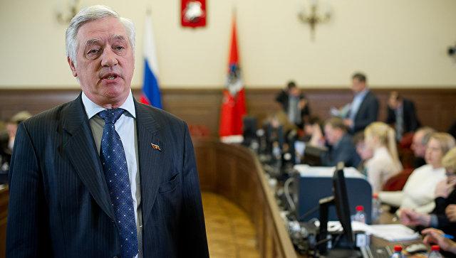 Председатель Мосгоризбиркома Валентин Горбунов. Архивное фото