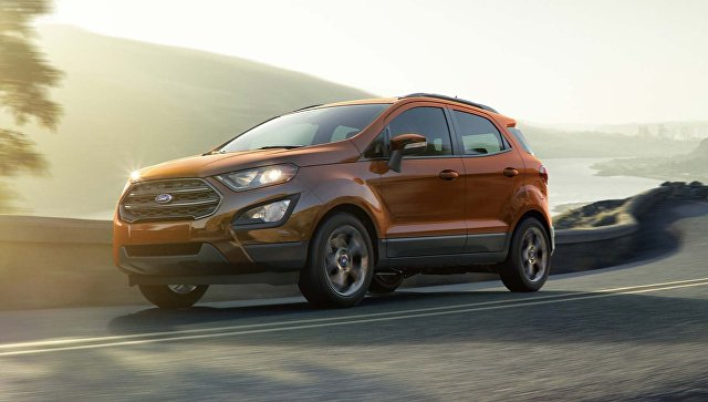 Форд отзывает в Российской Федерации 1320 авто Ecosport из-за неисправности
