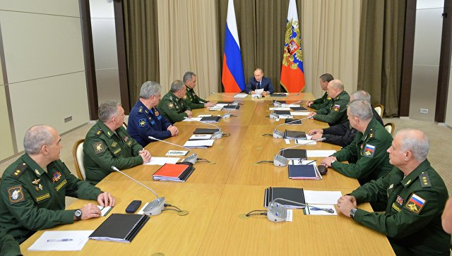 Путин: Российская Федерация разрабатывает лазерное игиперзвуковое оружие