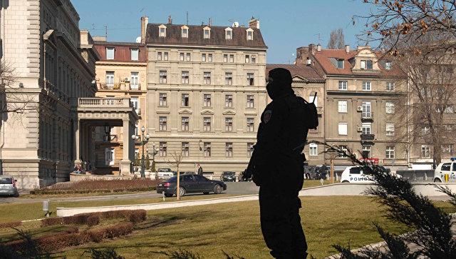 Вид на президентский дворец в Белграде. Архив
