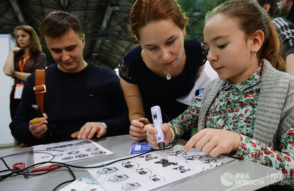 Мастер-класс по 3d-моделированию на выставке 3D Print Expo 2016 в Москве