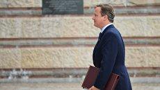 Дэвид Кэмерон на саммите НАТО в Варшаве. Архивное фото