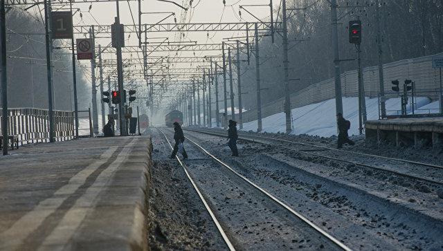 Железная дорога. Архивное фото