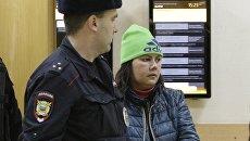 Гюльчехра Бобокулова в Хорошевском суде после оглашения приговора о принудительном психиатрическом лечении