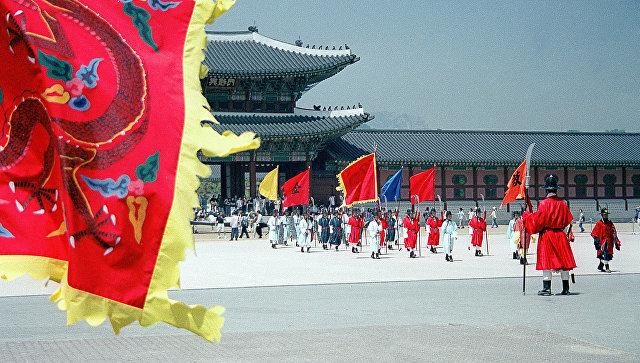 Королевский дворец в Сеуле. Архивное фото