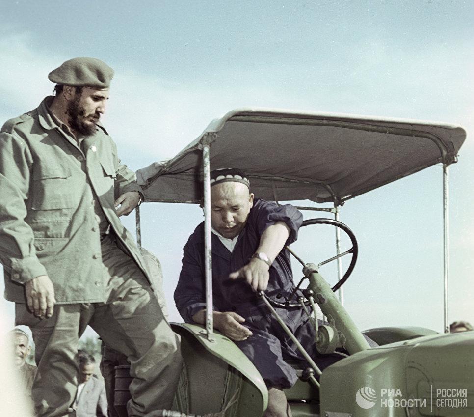 Визит в СССР лидера кубинской революции, Первого секретаря ЦК Коммунистической партии Кубы Фиделя Кастро