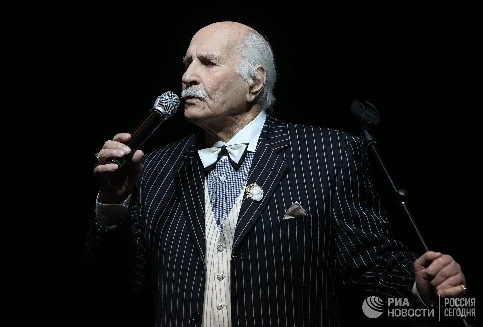 Творческий вечер Владимира Зельдина Я вас люблю в ЦДХ