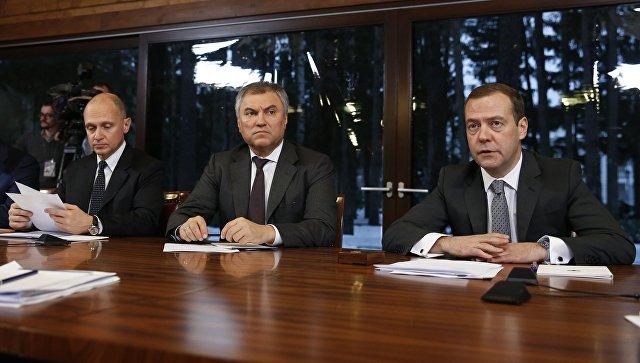«Единая Россия» должна выполнить предвыборные обязательства— Медведев