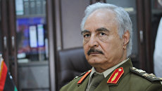 Командующий национальной армией Ливии Халифа Хафтар. Архивное фото
