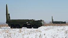 Оперативно-тактические ракетные комплексы Искандер-М. Архивное фото