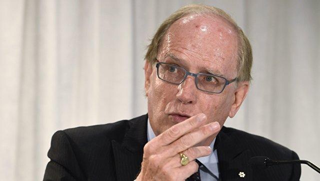 Глава независимого расследования комиссии WADA Ричард Макларен