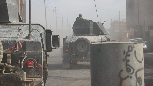 Армия Ирака вошла в жилые кварталы на западе Мосула