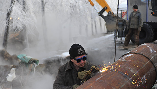 ВОрехово-Зуево около тысячи человек остались без тепла из-за прорыва трубы