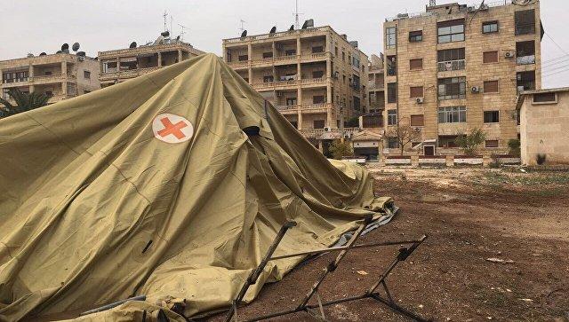Российский медик погибла при ударе по военному госпиталю в Алеппо (видео)