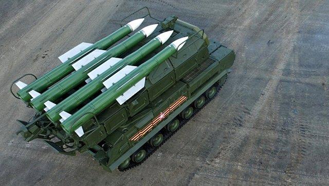 Зенитно-ракетный комплекс Бук-М2. Архивное фото