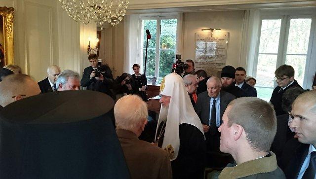 Патриарх Кирилл пожелал, чтобы традиция союзнических отношений Российской Федерации иФранции длилась