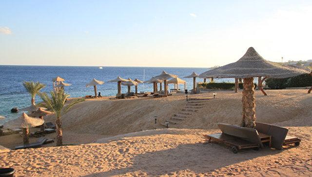 Пляж в Египте