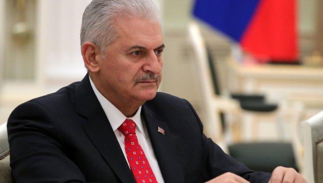 Премьер-министр Турецкой Республики Бинали Йылдырым. Архивное фото