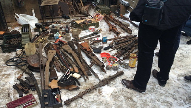 Втуалете поезда «Калининград-Москва» найдено оружие времен войны
