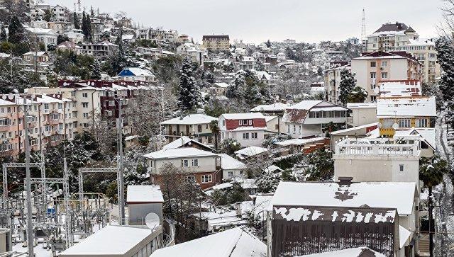 ВСочи объявлено штормовое предупреждение— население просят быть готовым кэвакуации