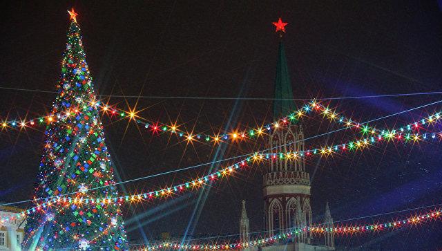 Главную новогоднюю ель РФ срубили вПодмосковье