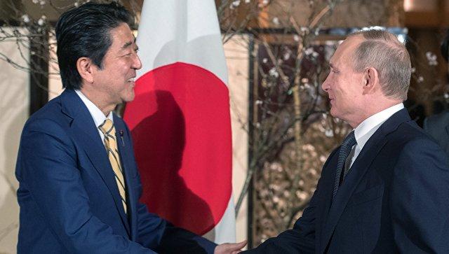 Стало известно, чем Синдзо Абэ угостит Владимира Путина