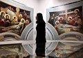Работы Михаила Полетаева и Василия Нестеренко на выставке Русский Афон