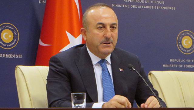 Руководитель МИД Турции прибыл в столицу