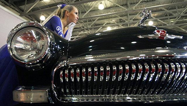 Автомобиль ГАЗ-21 Волга. Архивное фото