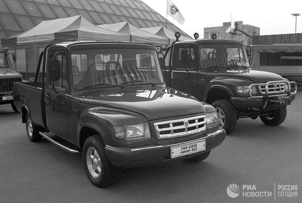 Автомобиль ГАЗ-2309
