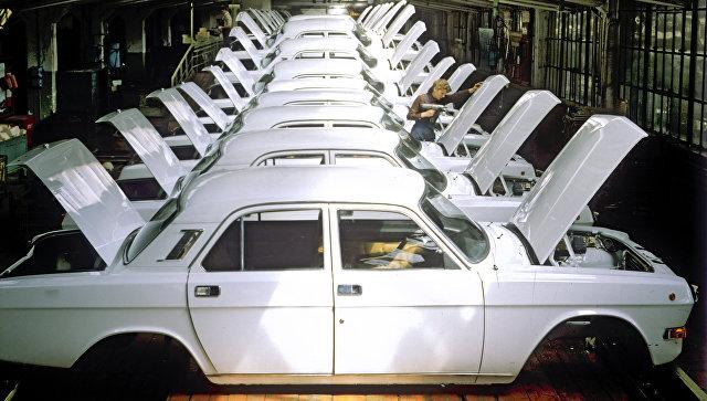 Завершающий этап сборки на Горьковском автомобильном заводе. Архивное фото