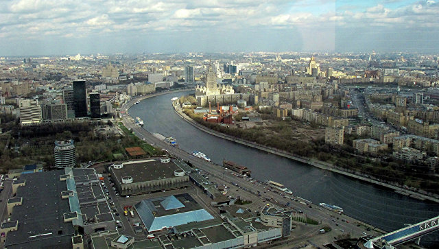 Вид на ЦВК Экспоцентр. Архивное фото