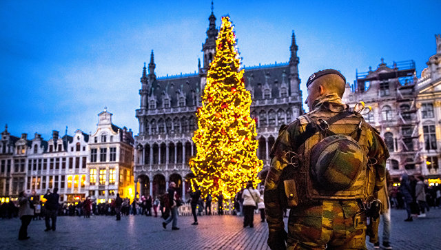 Военнослужащий в Бельгии. Архивное фото