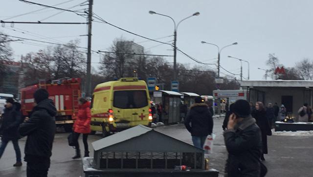 При взрыве устанции метро в столицеРФ пострадала гражданка Беларуссии