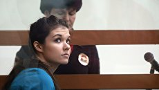 Варвара Караулова в Московском окружном военном суде. 22 декабря 2016