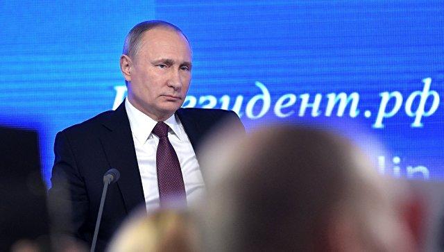 Путин ответил напровокационный вопрос овыборах президента