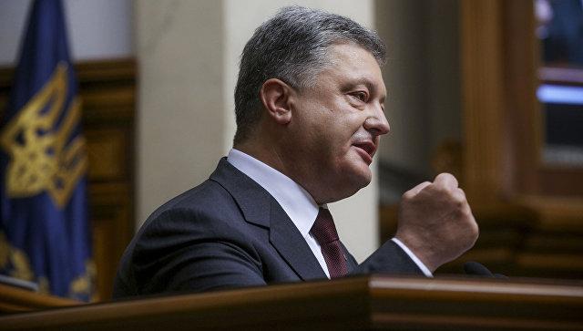 Порошенко попросил Китай содействовать решению конфликта в Донбассе