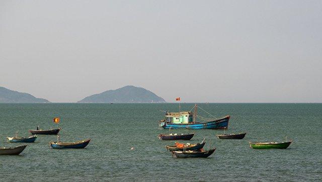 Вид на Южно-Китайское море. Архивное фото
