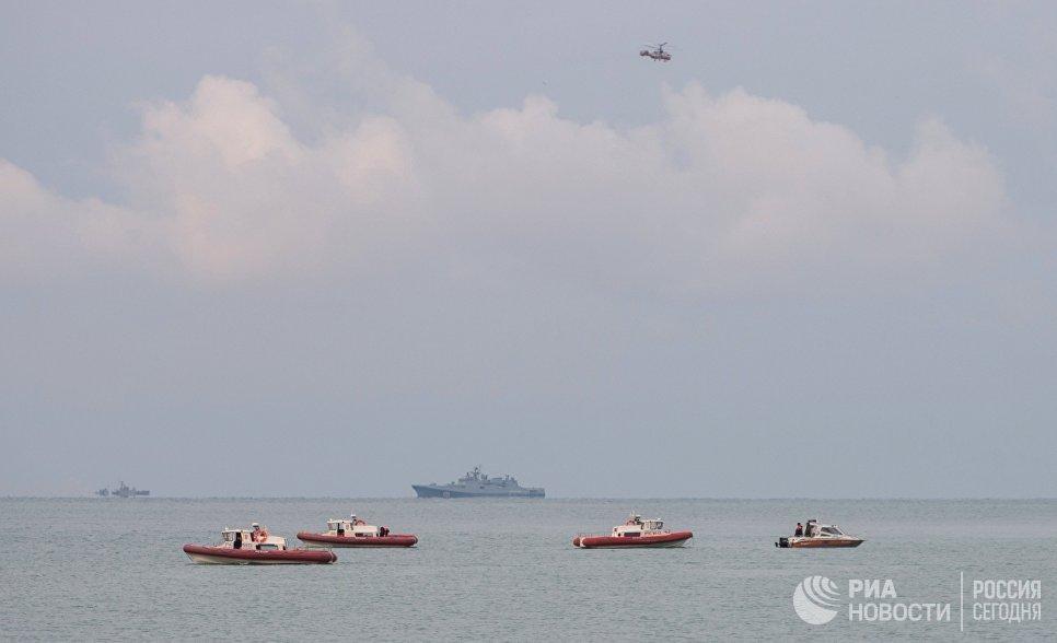 Cотрудники экстренных служб отыскали еще два темных ящика «Ту-154»
