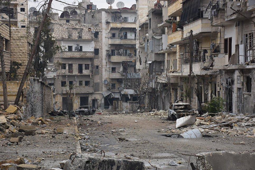 Алеппо после его освобождения от террористов